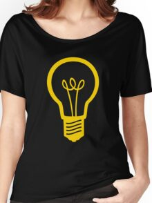 Attention Lightbulb Women's Relaxed Fit T-Shirt