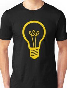 Attention Lightbulb Unisex T-Shirt