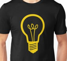 Attention Lightbulb Unisex T-Shirt