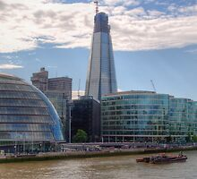 London Assembly and Shard by Chris Day