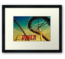 Diner Framed Print