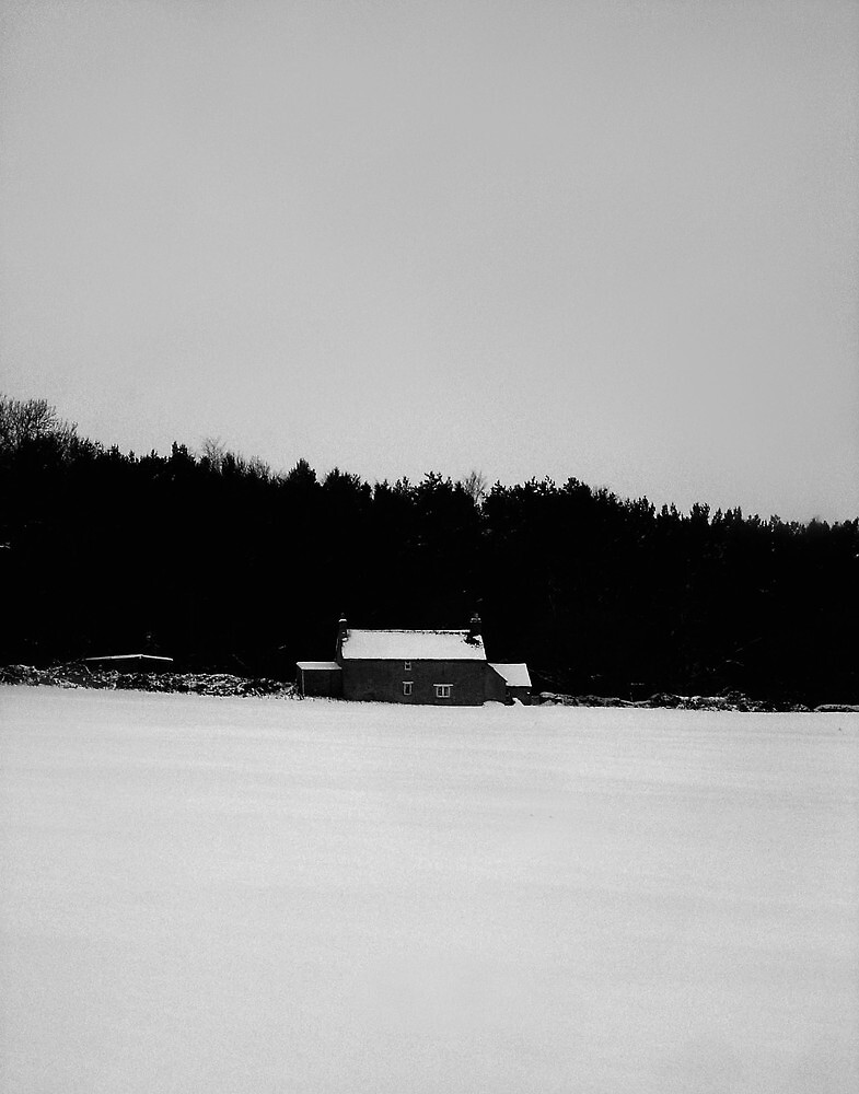 Country House in Winter by Reuben Vick