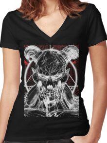 DOOM BARON OF HELL V 3 Women's Fitted V-Neck T-Shirt