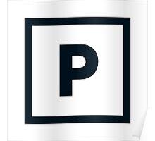 "Alphabet ""P"" Poster"
