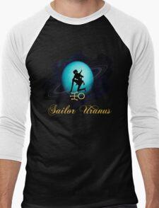 Sailor Uranus Men's Baseball ¾ T-Shirt