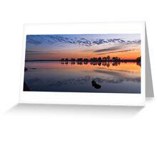 Mirror Mirror on the Lake Greeting Card