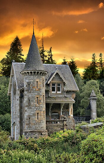 Fairytale Castle #2 by Sandra Cockayne