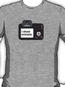 I Shoot Animals T-Shirt