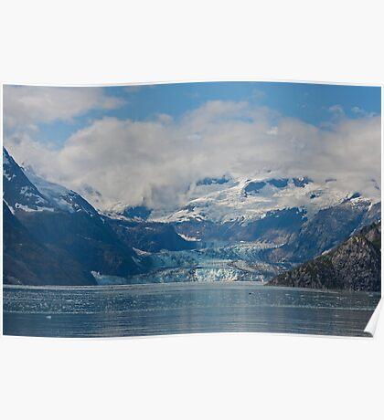 Johns Hopkins Glacier, Glacier Bay Alaska Poster