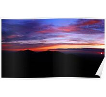 Summer Solstice Sunrise Poster