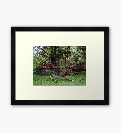 Once upon a time........ Framed Print