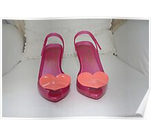 Pink Shoes Poster