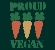 PROUD VEGAN with carrots by jazzydevil