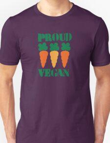 PROUD VEGAN with carrots T-Shirt