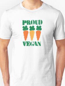 PROUD VEGAN with carrots Unisex T-Shirt