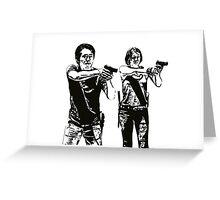 Glenn & Maggie Walking Dead Greeting Card