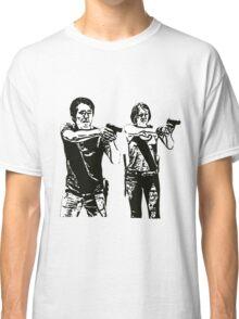 Glenn & Maggie Walking Dead Classic T-Shirt