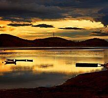 Sunrise at Lake Plastiras by Hercules Milas