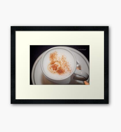 Cappuccino and Cinnamon Framed Print