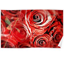 I Dream of Roses - For Bubblers Poster