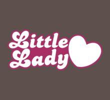Little lady with cute little heart One Piece - Short Sleeve