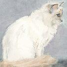Fleur The Cat by MoniqueGeurts