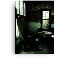 strange living room, malone tx Canvas Print