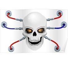 Skull the biorobot  Poster