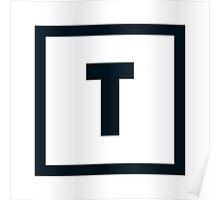 "Alphabet ""T"" Poster"