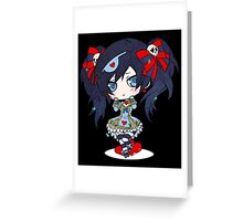 Anime Chibi 5. Greeting Card