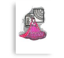 Bridal Canvas Print
