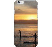 Sunset by the sea iPhone Case/Skin