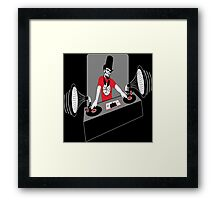 DJ Abe Lincoln Framed Print