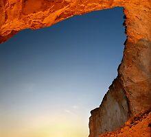 Sunset at Erimitis beach - Paxos island by Hercules Milas