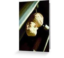 Abstract Alien Embryo lomo Greeting Card