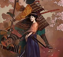 The Spirit of Tomoe Gozen by rudyfaber