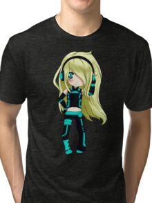 Anime Chibi 5. Tri-blend T-Shirt