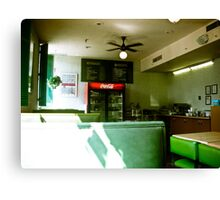 The Coffee Shop 02 Canvas Print