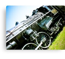 Old locomotive Steam Train 01 Canvas Print