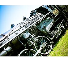 Old locomotive Steam Train 01 Photographic Print