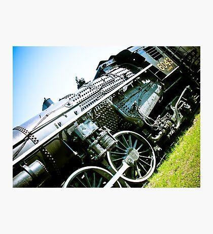 Old locomotive Steam Train 01 Photographic Print