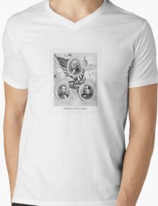 Saviours Of Our Country -- American History Mens V-Neck T-Shirt