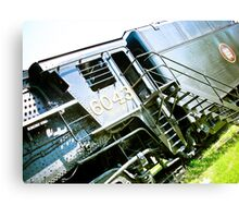 Old locomotive Steam Train 02 Canvas Print