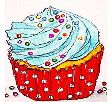 Hello Cupcake  Photographic Print