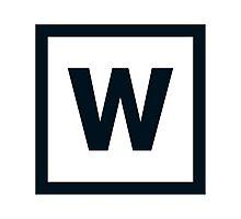 """Alphabet """"W"""" Photographic Print"""