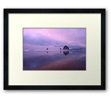 Cannon Beach reflections Framed Print