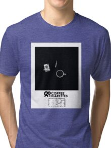 Coffee & Cigarettes Poster Tri-blend T-Shirt