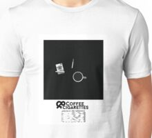 Coffee & Cigarettes Poster Unisex T-Shirt