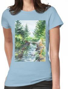Forest Creek Womens Fitted T-Shirt