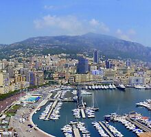 Monte Carlo Panorama by Colin Metcalf